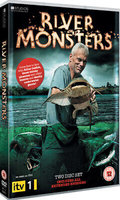 £3.48 • Buy River Monsters DVD (2010) Jeremy Wade Cert 12 2 Discs FREE Shipping, Save £s