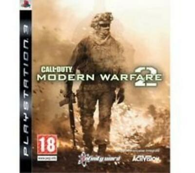 PlayStation 3 : Call Of Duty: Modern Warfare 2 (PS3) VideoGames Amazing Value • 3.61£