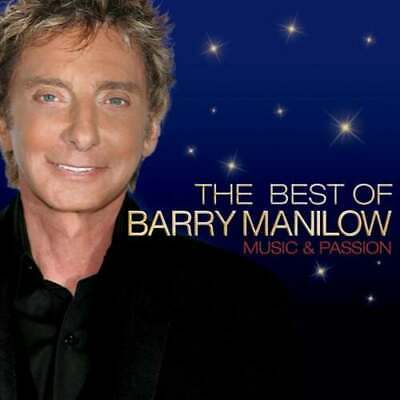 Barry Manilow : The Best Of Barry Manilow: Music And Passion CD (2008) • 2.39£