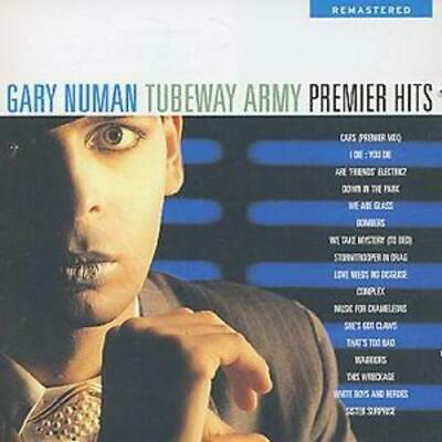 Tubeway Army : Premier Hits CD (1999) Highly Rated EBay Seller Great Prices • 4.31£