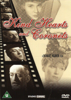 Kind Hearts And Coronets DVD (2004) Dennis Price, Hamer (DIR) Cert U Great Value • 2.53£