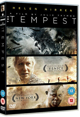 The Tempest DVD (2011) Helen Mirren, Taymor (DIR) Cert 12 FREE Shipping, Save £s • 2.22£
