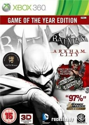 £4.67 • Buy Batman: Arkham City: Game Of The Year Edition (Xbox 360) Strategy: Stealth