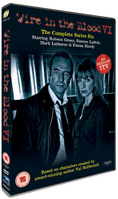 £3.39 • Buy Wire In The Blood: The Complete Series 6 DVD (2009) Robson Green Cert 18 2