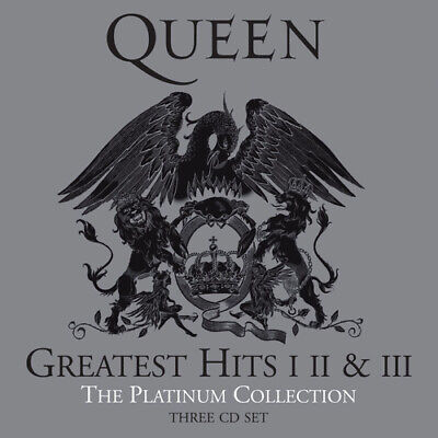 £9.71 • Buy Queen : Greatest Hits I II & III: The Platinum Collection CD Remastered Album 3