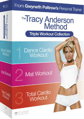 £4.51 • Buy The Tracy Anderson Method: Triple Workout Collection DVD (2010) Tracy Anderson
