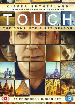£2.38 • Buy Touch: Season 1 DVD (2013) Kiefer Sutherland Cert 12 3 Discs Fast And FREE P & P