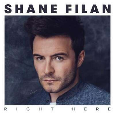 Shane Filan : Right Here CD (2015) Value Guaranteed From EBay's Biggest Seller! • 2.04£