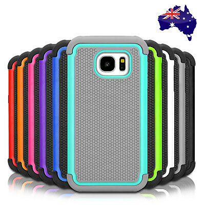 AU4.99 • Buy Heavy Duty Tough Shockproof Case Cover For Samsung Galaxy S8 S8+ Plus S5 S7 Edge