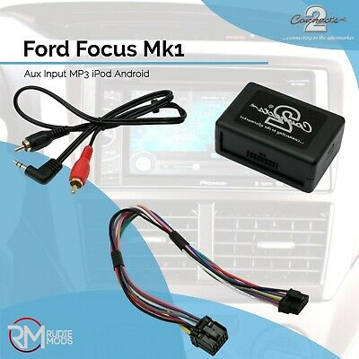 Connects2 CTVFOX001 Ford Focus Mk1 Music Aux Input Adapter MP3 IPod Android • 31.99£