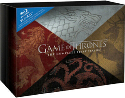 Game Of Thrones: The Complete First Season BLU-RAY (2012) Sean Bean Cert 18 6 • 18.98£