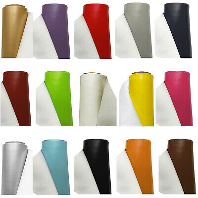 £0.99 • Buy FAUX LEATHER Fabric Leatherette Material Leathercloth Waterproof Upholstery
