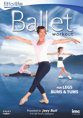 Ballet Workout - For Legs, Bums And Tums DVD (2010) Joey Bull Cert E Great Value • 3.41£