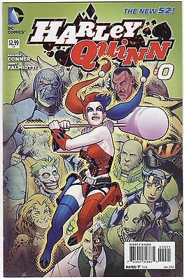 $ CDN48.37 • Buy NEW DC 52 Harley Quinn #0 1:25 STEPHEN ROUX Variant Cover