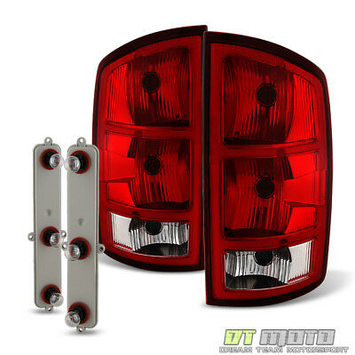 $61.99 • Buy 2002-2006 Dodge Ram 1500 2500 3500 Pickup Tail Lights Brake Lamps+Circuit Board