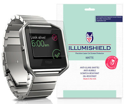 AU10.19 • Buy 3x ILLumiShield Matte Anti-Glare Screen Protector For Fitbit Blaze
