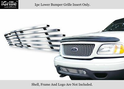 $36.99 • Buy Fits 99-03 Ford F-150 4WD/Expedition Bumper Stainless Steel Billet Grille