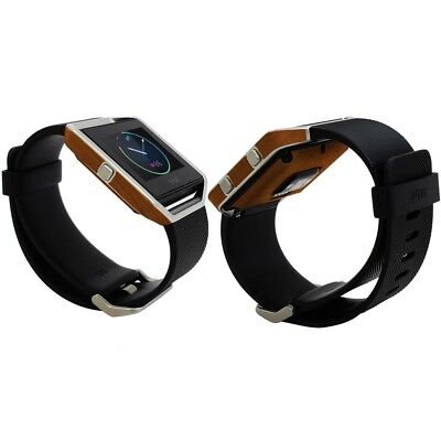AU23.39 • Buy Skinomi Light Wood Skin & Screen Protector For Fitbit Blaze