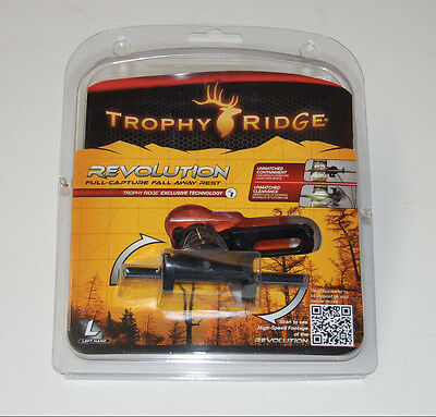 $28.47 • Buy Trophy Ridge Revolution Black Left Handed Full Capture Fall Away Rest - Archery