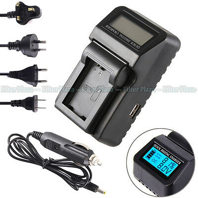 $ CDN25.37 • Buy Wall/CAR LCD Battery Charger For Sony NP-FW50 A6300 A6000 A7 II A7R A7S NEX7 USB