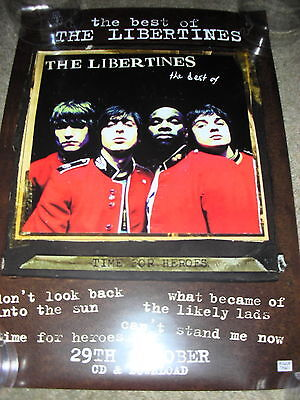 The Libertines - Best Of The Libertines - PROMO POSTER • 7.99£
