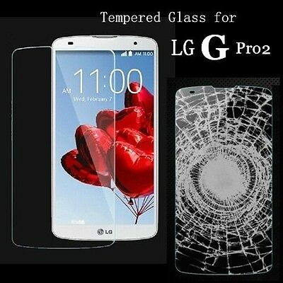 Tempered Glass Screen Protector Film For LG Optimus G Pro2 II F350 D837 D838 • 14.99AU