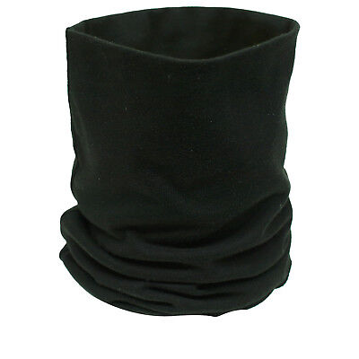 Black Cotton Motorcycle Bike Helmet Thermal Scarf Neck Tube Warmer Ghost Bikes • 4.99£