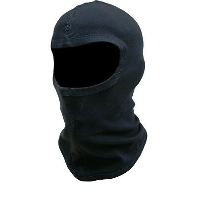 Black Cotton Motorcycle Motorbike Bike Helmet Soft Ski Balaclava Ghost Bikes • 3.99£