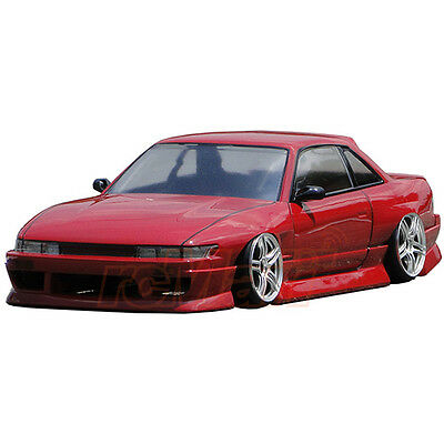 D-Like Nissan S13 Silvia 1:10 RC Cars Drift 198mm Clear Body Set On Road #DL103 • 85.31£