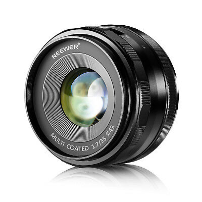 AU104.38 • Buy Neewer NW-E-35-1.7 35mm F/1.7 Manual Focus Prime Fixed Lens For Sony A6300 A6500