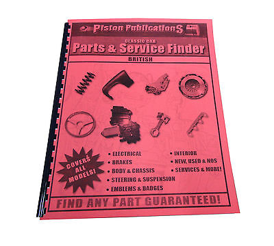 $ CDN23.01 • Buy 1934 - 1981 MG Parts & Service Locating Guide ALL Models