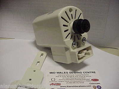 DOMESTIC ANTI CLOCKWISE SEWING MACHINE MOTOR,NO LEADS Or Pedal • 34£