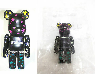 $119.99 • Buy RaRe~ Medicom Japan Atmos 100% Be@rbrick Bearbrick Crazy Star Black Colour Ver.