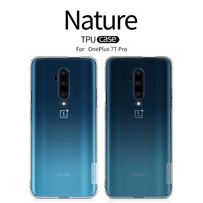 AU8.03 • Buy For OnePlus 7T Pro / 6T 5T 5 Case Nillkin Transparent Clear Soft TPU Slim Cover