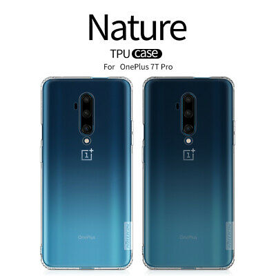 AU8.44 • Buy Nillkin Soft TPU Transparent Clear Crystal Cover Case For OnePlus 7T 7 Pro 6T 5T
