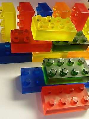 $13.99 • Buy Block Birthday Party Favors Scented Soaps Boys Lego Inspired Pack Of 25 Building