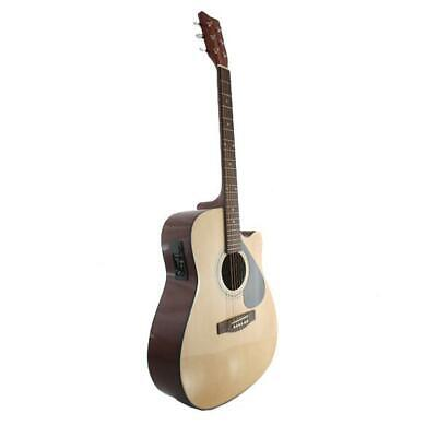 AU149 • Buy Marquez MD150-EC Steel String Electric Acoustic Guitar - NATURAL