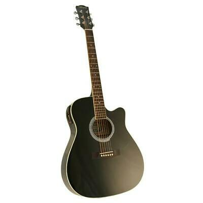 AU149 • Buy Marquez MD150-EC Steel String Electric Acoustic Guitar - BLACK