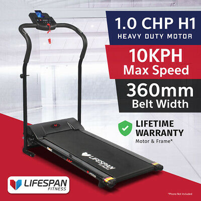 AU489 • Buy Lifespan Fitness ARC Compact Treadmill Exercise Easy Folding Home Gym Equipment