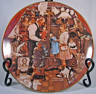 $ CDN99.99 • Buy Norman Rockwell 1979 April Fool's Day Plate Ghent Coll.