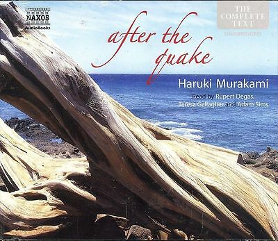AU39.95 • Buy Haruki Murakami After The Quake Audio Book CD NEW Complete Text 4-discs