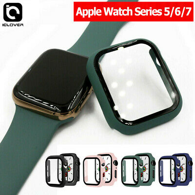 $ CDN9.13 • Buy Apple Watch Series 5/6 40/44mm Full Body Cover Snap Hard Case+Screen Protector