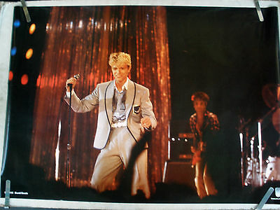$26.02 • Buy David Bowie  In Concert Holding Microphone  Commercial Poster From 1982