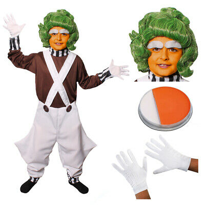 £16.99 • Buy Boys Factory Worker Costume Accessories World Book Day Movie Film Fancy Dress