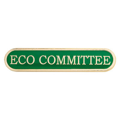 Eco Committee Bar Enamel Badges - Free Delivery • 3.26£