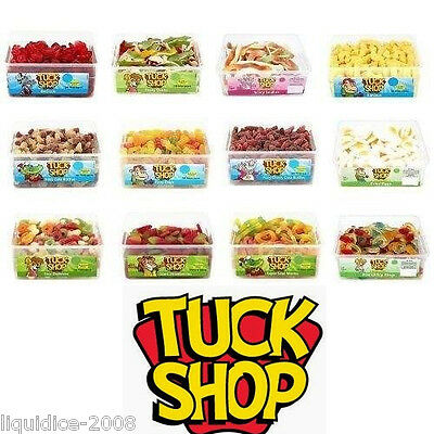 Tuck Shop Sweets X 1 Full Tub Box Of Candy Box Birthday Party Favours Treats Kid • 9.89£