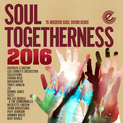 Various Artists : Soul Togetherness 2016 CD (2016) ***NEW*** Fast And FREE P & P • 11.83£