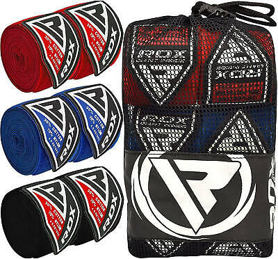 $ CDN35.49 • Buy RDX MMA Boxing Hand Wraps Inner Gloves Protector Muay Thai Bandages Mitts CA