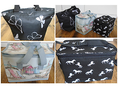 £6.99 • Buy Lunch Bag - Thermal Butterfly, Horse Or Beach Print