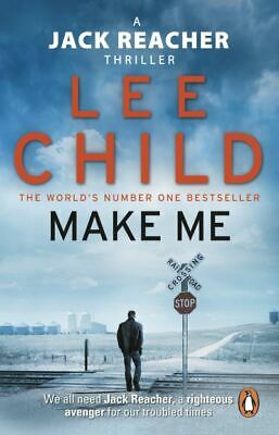 A Jack Reacher Thriller: Make Me By Lee Child (Paperback) FREE Shipping, Save £s • 3.18£
